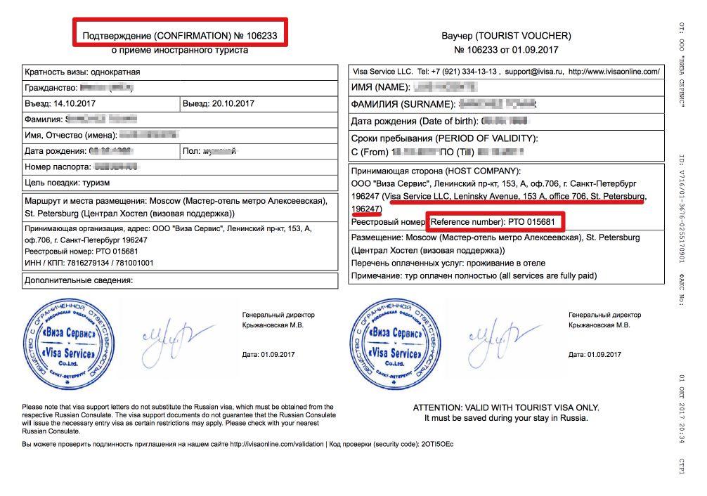 Voucher na zaproszenie Visa - iVisa - Polska
